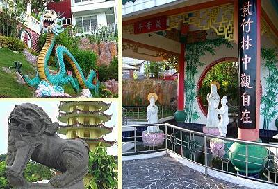 Drache am Taoist Temple in Cebu Philippinen
